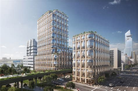 residential towers getting the backyard in the city part new renderings reveal thomas heatherwick s design for