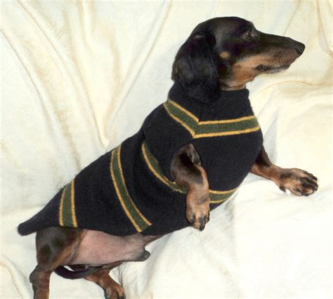 dachshund sweater for custom made dachshund sweater jumper coat to fit by warmweenies