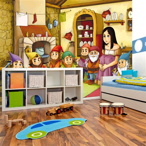 cartoon bedroom wallpaper aliexpress com buy large mural children s room bedroom