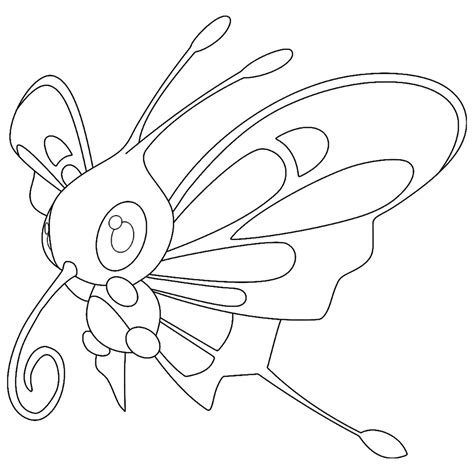 pokemon coloring pages butterfree beautifly coloring page pokemon coloring pages pokemon