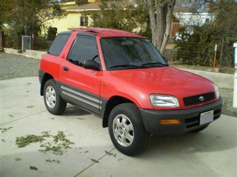 Toyota Rav4 2dr For Sale Find Used 1996 Toyota Rav4 Base Sport Utility 2 Door 2 0l