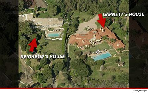kevin garnett house kevin garnett buries hatchet in malibu turf war