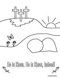 he is risen coloring page coloring pages by coast coloring