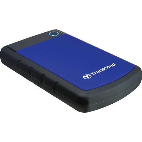 Harddisk Transcend transcend 1tb storejet 25h3p anti shock external ts1tsj25h3b b h