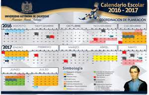 Calendã Escolar Ua 2017 Calendario Uaz Uaz Edu Mx