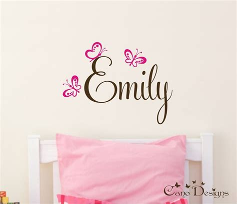 wall decals online kids custom wall vinyl cheap wall 46 best emily images on pinterest names baby girl