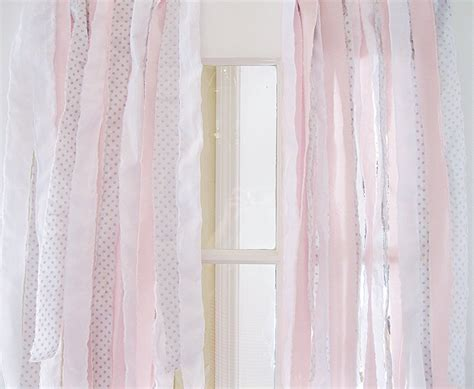 shabby chic curtain rod ribbon bohemian curtain shabby chic curtains ribbon
