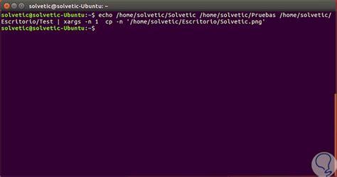 linux tutorial echo copiar archivo a varios directorios a la vez en linux