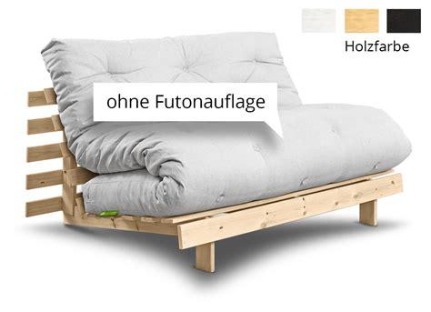 futon sofa 140x200 futonsofa roots ohne futon 140x200 cm futonsofas