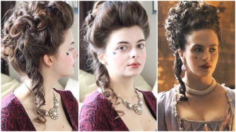 18th Century Hairstyles 18th century hair tutorial hulu
