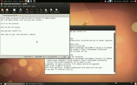 tutorial vlc linux video tutorial on how to install vlc media player in