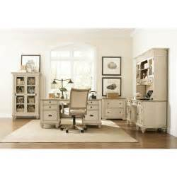 Home Office Suite Furniture Set Riverside 32533 Coventry Two Tone Shutter Door Credenza Homeclick