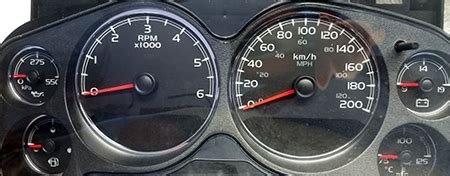speedometer conversion gauge faces mph and kph • carolina