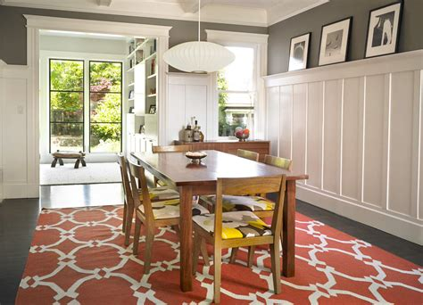 dining room wainscoting ideas grey walls with white wainscoting looks simple and elegant