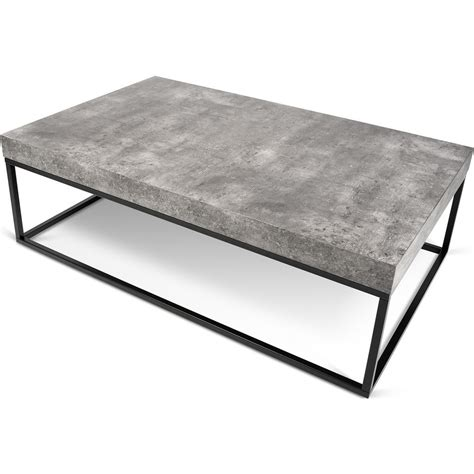 concrete top coffee table concrete top coffee table coffee table sportique