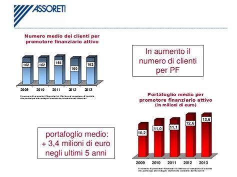 Promotore Finanziario Banca by Promotori Finanziari Relazione 2013 Assoreti