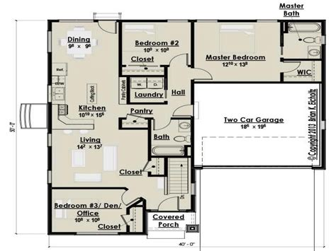 3 bedroom cottage floor plans small three bedroom cottage house plans farmhouse bedroom