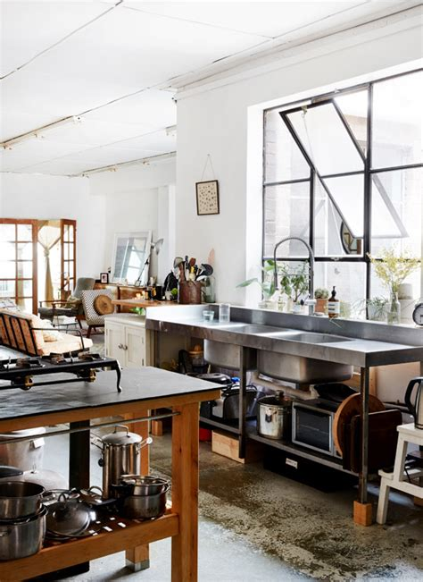warehouse kitchen design kate ratner and michael tait the design files