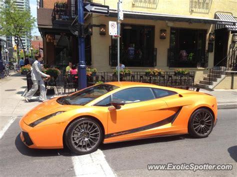 Lamborghini In Toronto Lamborghini Gallardo Spotted In Toronto Canada On 05 30