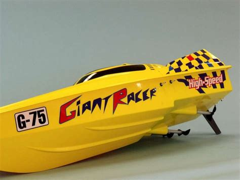 giant rc boat giant racer rc speed boat 45 inch radio controlled boats