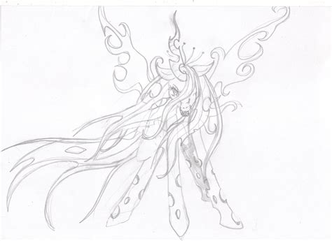 Mlp Queen Chrysalis Coloring Pages Coloring Pages Chrysalis Coloring Pages