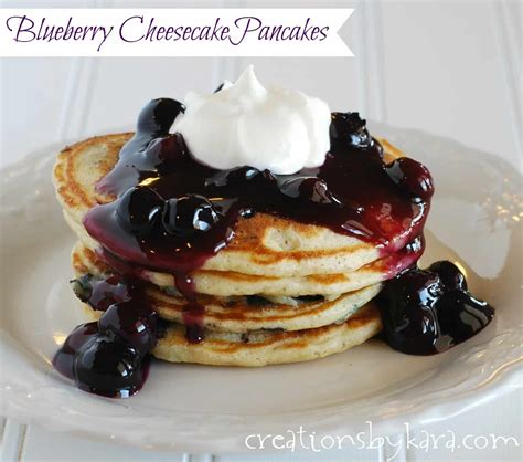 blueberry pancake recipe blueberry pancakes with cream cheese topping