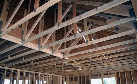 Garage Joists Who Does Truss Drawings Evstudio Architecture