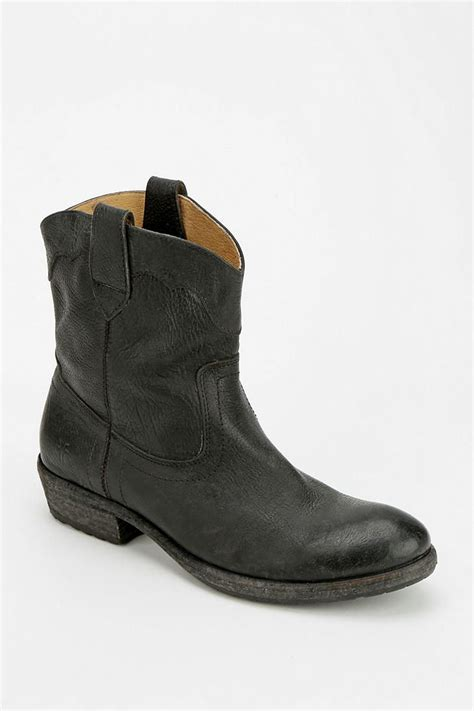 frye carson ankle boot my style