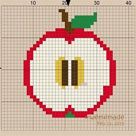 apple perler 28 best images about pyssla on magnets