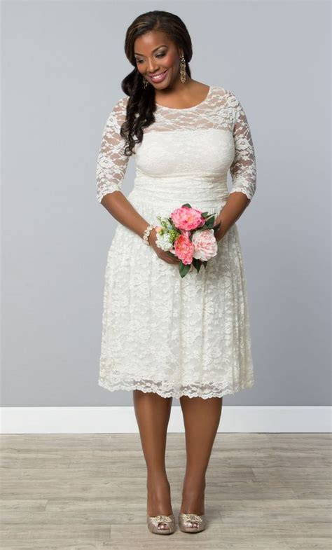 plus size casual wedding dresses for the more casual opt for our plus size