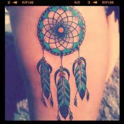 colorful dreamcatcher tattoos dreamcatcher colour want it so bad blue make a