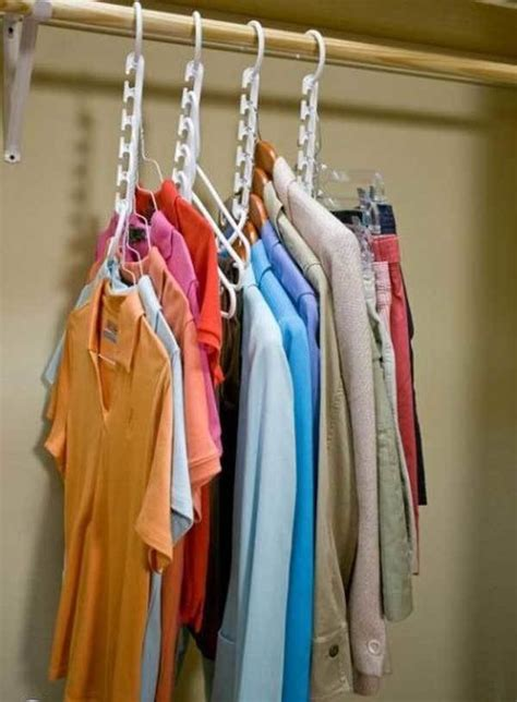 Make More Room In Closet by 42 Simple Storage Hacks That Will Help Organize Your