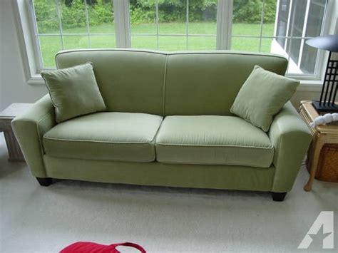 sage microfiber sofa soft sage green microfiber sofa matching loveseat by