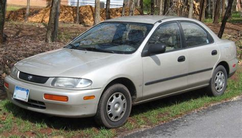 1997 mazda protege mpg flashback friday 12 my protege seen on the