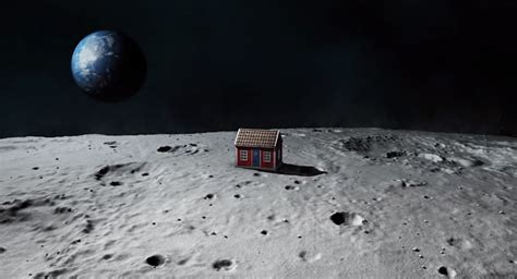 house on the moon artist mikael genberg to install self assembling house on the moon in 2015