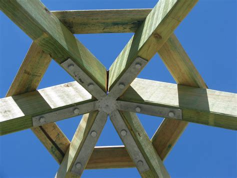 Square Gazebo Roof Framing Buy Gazebo Rafter Bracket Gal 4 6 8 Sided Demak