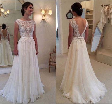 Brautkleider Aus Spitze by 2015 Spitze Wei 223 Elfenbein Hochzeitskleid Brautkleid