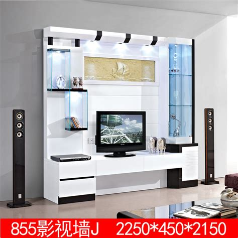 3 m white living room furniture lcd tv cabinet 855