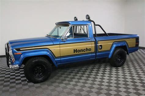 jeep honcho interior 1978 jeep j10 honcho gladiator restored na prodej