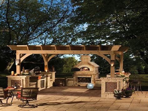 fireplace backyard outdoor fireplaces arizona fireplaces