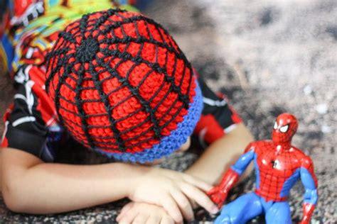 spiderman hair pattern crochet spiderman beanie spider super hero hat spidey