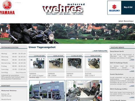 Motorrad Yamaha H Ndler Nrw by Motorrad Wehres Gmbh In Essen Motorradh 228 Ndler