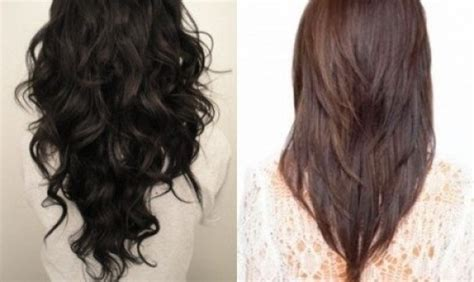 tutorial for layered v shape the most awesome as well as interesting v shaped haircuts