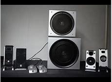 Logitech Z3e vs Logitech Z-2300 [big bro] system bass ... M 2300 T