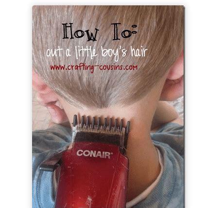 diy boys haircut diy how to cut boy s hair