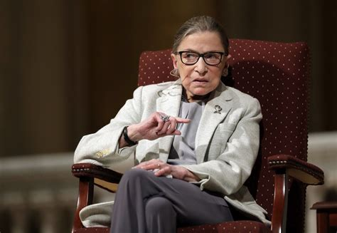 justice ginsburg laments partisanship in speech at