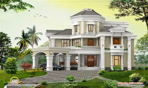 Awesome Home Design 5167 Sq Ft Kerala Home Design Home Desig