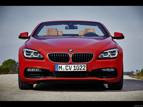 2015 bmw 6 series 650i convertible front wallpaper 12