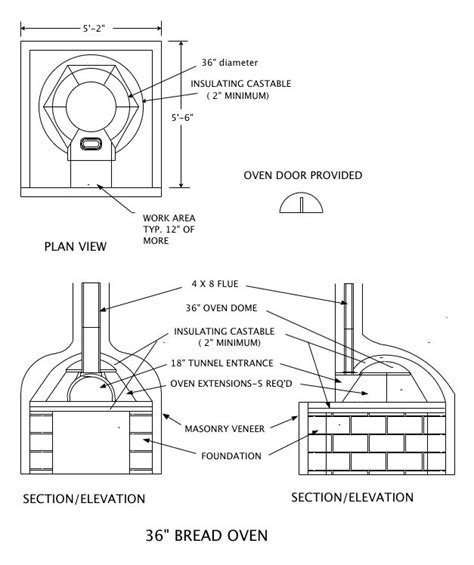 woodwork wood oven plans pdf plans