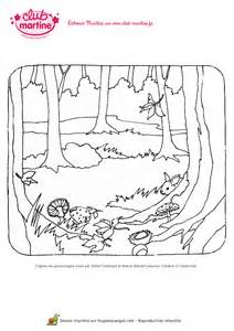 Coloriage De Martine Dans La For 234 T Hugolescargot Com